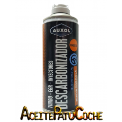 DESCARBONIZADOR INYECTORES TURBO EGR - AUXOL 400ML.
