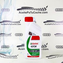 ACEITE CASTROL GTX  15W40 1 LITRO