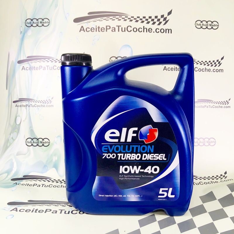 ACEITE ELF EVOLUTION 700 TURBO DIESEL 10W40 5 LITROS