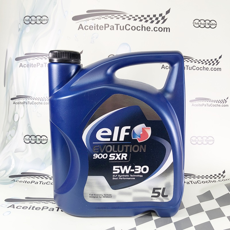 ACEITE ELF EVOLUTION 900 SXR 5W30 5 LITROS