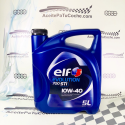 ACEITE ELF EVOLUTION 700 STI 10W40 5 LITROS