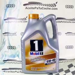 ACEITE MOBIL 1 KEEPS ENGINES (NEW LIFE) 0W40 5 LITROS
