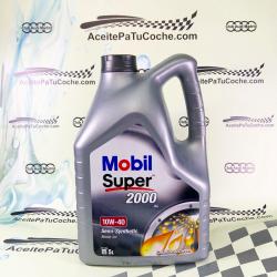 ACEITE MOBIL SUPER 2000 XE 10W40 5 LITROS