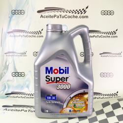 ACEITE MOBIL SUPER 3000 XE 5W30 5 LITROS