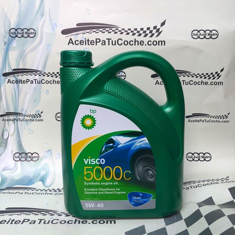 ACEITE BP VISCO 5000C 5W40 4 LITROS