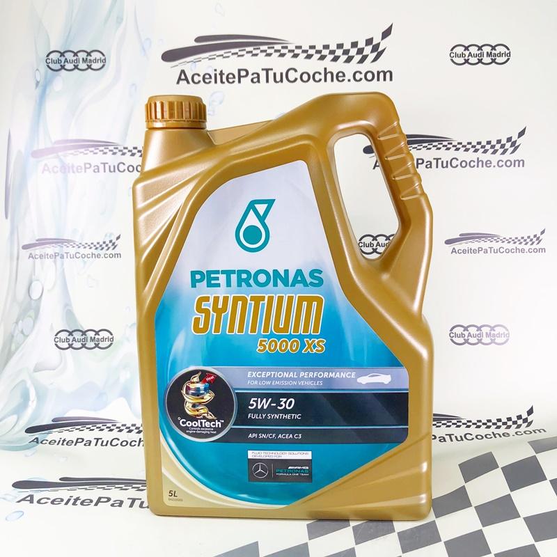 ACEITE PETRONAS SYNTIUM 5000 XS 5W30 5 LITROS