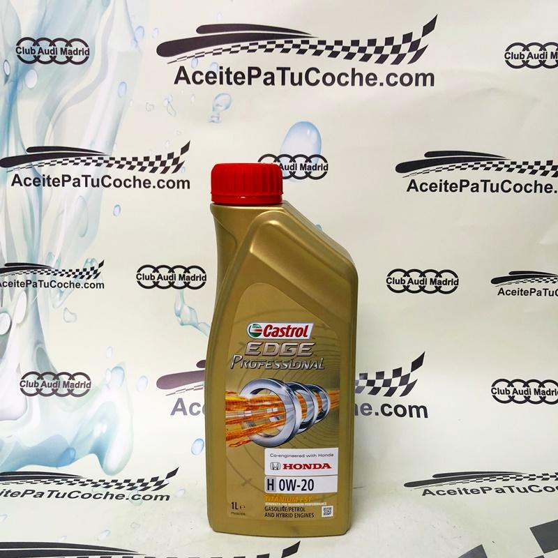 honda aceite castrol edge professional 0w20