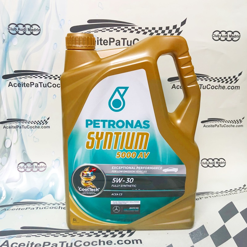ACEITE PETRONAS SYNTIUM 5000 AV 5W30 5 LITROS