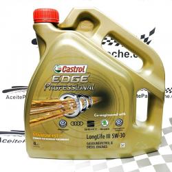 ACEITE CASTROL EDGE PROFESSIONAL LONGLIFE III 4 LITROS
