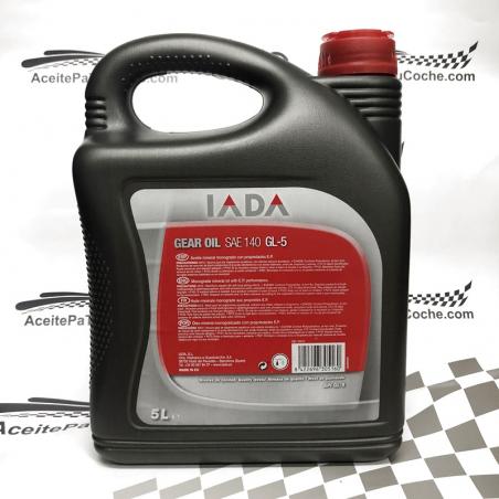 ACEITE IADA GEAR OIL SAE 140 GL-5 5 LITROS