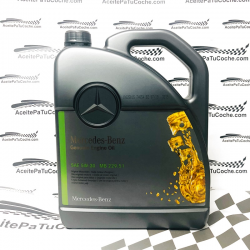 ACEITE ORIGINAL MERCEDES BENZ MB 229.51 5W30 5 LITROSS