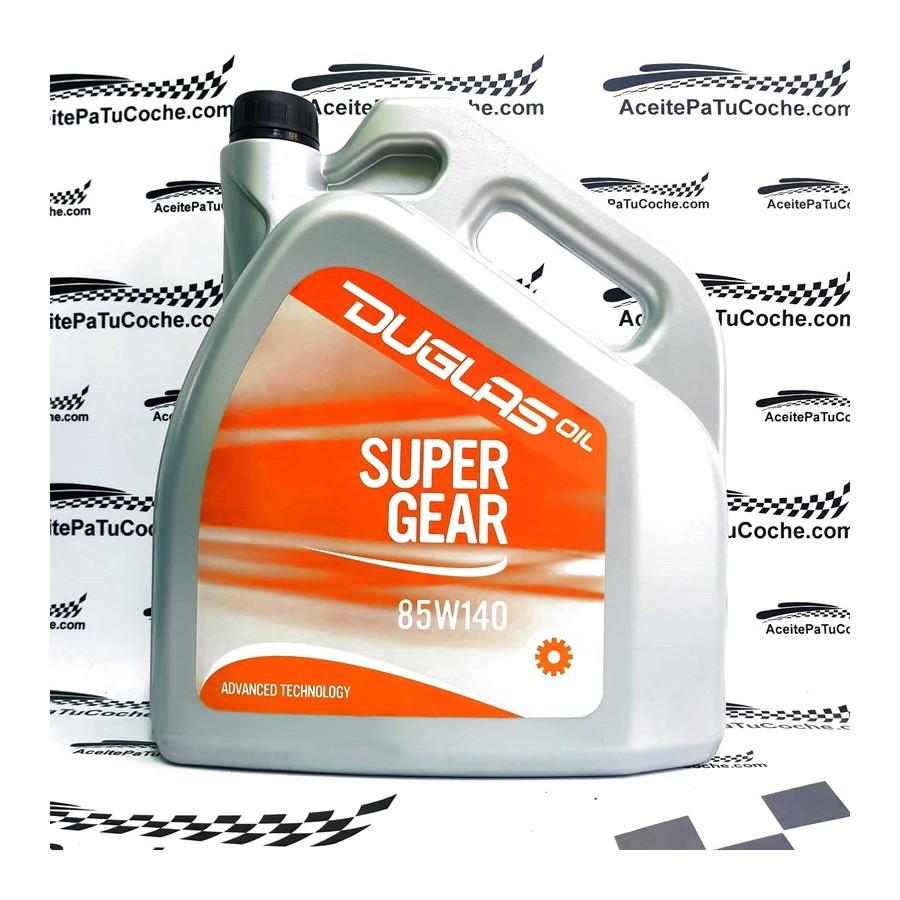 DUGLAS OIL SUPER GEAR 85W140 5 LITROS