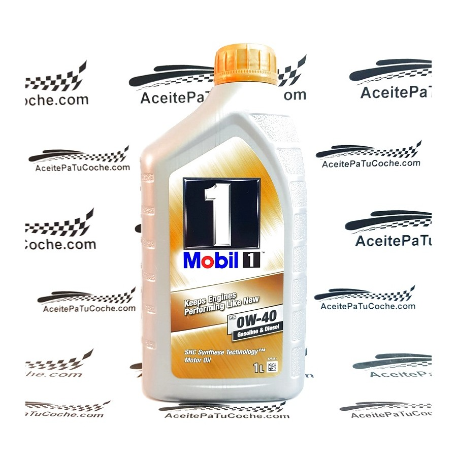 ACEITE MOBIL 1 KEEPS ENGINES 0W40 1 LITRO