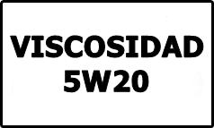 Viscosidad 5W20