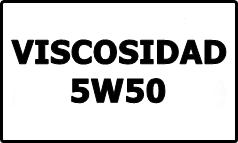 Viscosidad 5W50