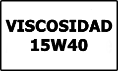 Viscosidad 15W40