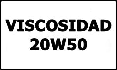 Viscosidad 20W50