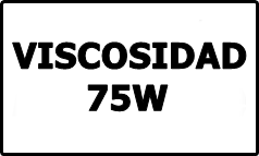 Viscosidad 75W