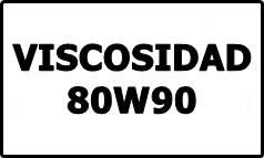 Viscosidad 80W90