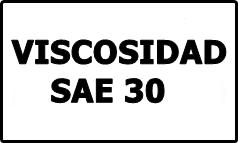 Viscosidad SAE 30