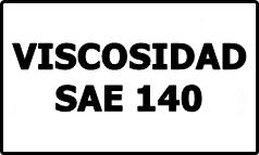 Viscosidad SAE 140