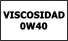 Viscosidad 0W40